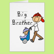 Big Brother with Little Brother Tshirts and Gifts Card