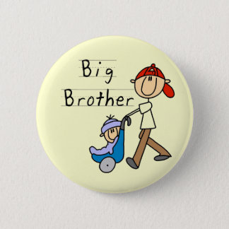 Big Brother with Little Brother Tshirts and Gifts Pinback Button