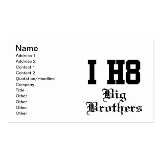big brothers business cards