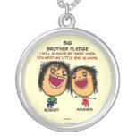 Big Brothers Pledge To Sister Custom Jewelry