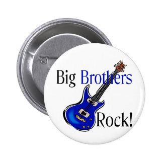Big Brothers ROCK! Pinback Button