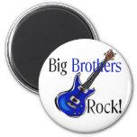 Big Brothers ROCK! Fridge Magnet