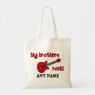 Big Brothers Rock! with guitar Tote Bag