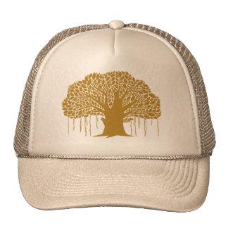 Big Brown Banyan Tree Trucker Hat