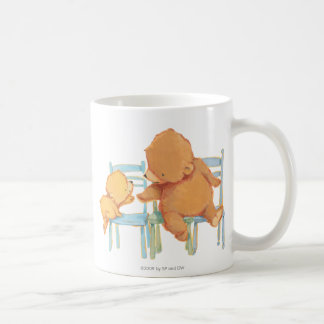 Big Brown Bear Helps Little Yellow Bear Coffee Mug