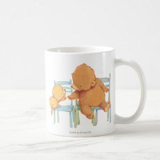 Big Brown Bear Helps Little Yellow Bear Coffee Mug