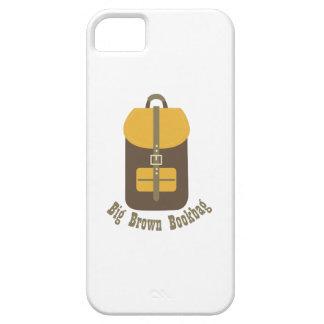 Big Brown Bookbag iPhone 5 Case