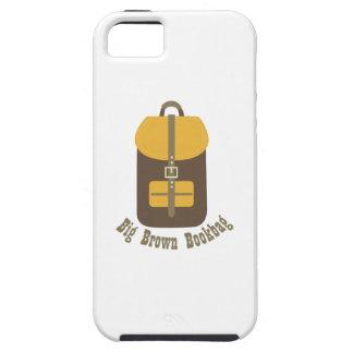 Big Brown Bookbag iPhone 5 Covers