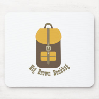 Big Brown Bookbag Mousepads