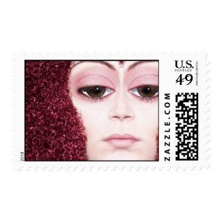Big Brown Eyes Stamp