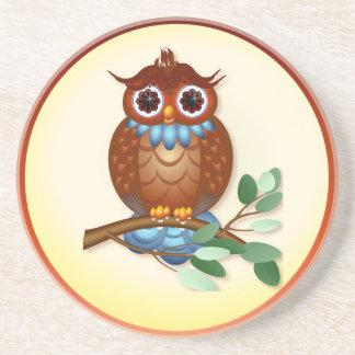 Big Brown Owl Coasters