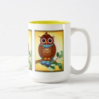 Big Brown Owl  Mugs