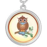 Big Brown Owl Necklace