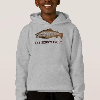 Big Brown Trout Hoodie