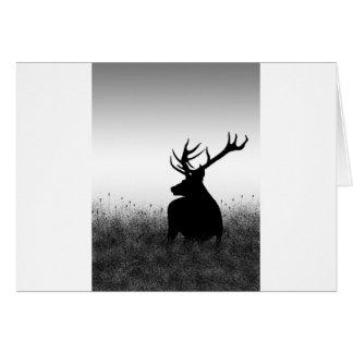 Big Buck Greeting Card