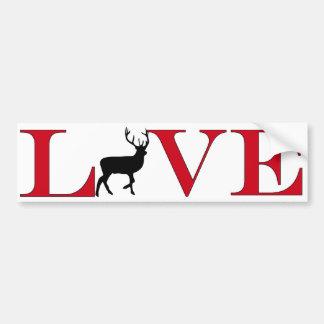 Big Buck Lover Bumpersticker Bumper Sticker