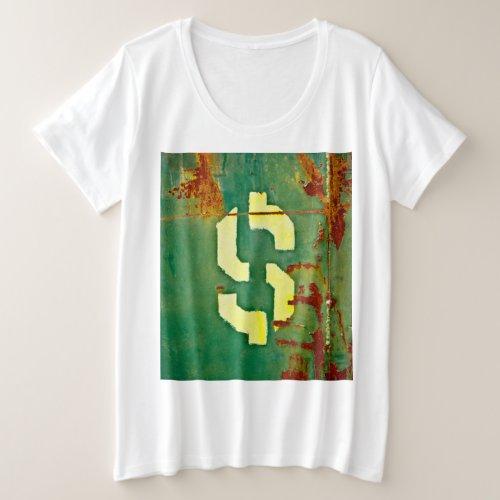 Big Bucks Plus Size T_Shirt