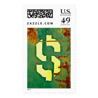 Big Bucks Postage Stamp