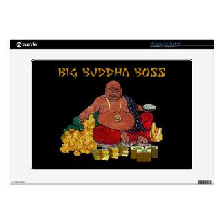 "Big Buddha Boss 15"" Laptop Decal"