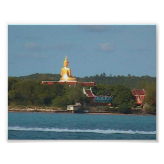 Big Buddha Island, Thailand Poster