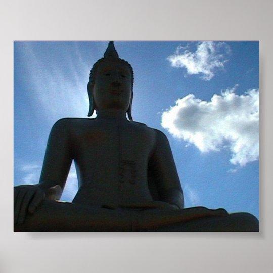 Big Buddha, Thailand Poster