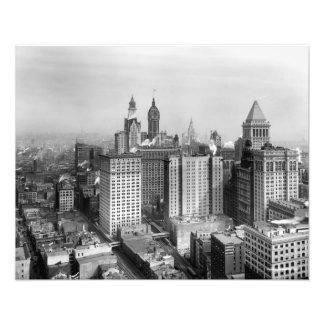 Big buildings of Lower Manhattan PHOTO PRINT