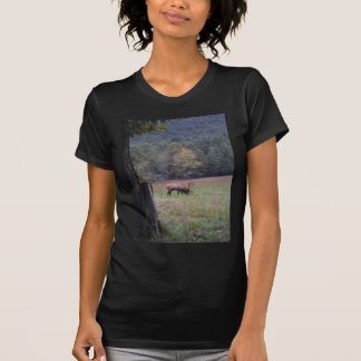 Big Bull Elk in the Autumn purple grass T-Shirt