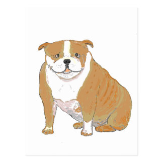 Big Bulldog on multiple Products Postcard