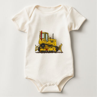 Big Bulldozer Dozer Infant Creeper