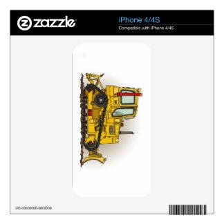 Big Bulldozer Dozer iPhone 4 Skins