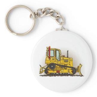 Big Bulldozer Dozer Key Chain