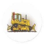 Big Bulldozer Dozer Kids Sticker