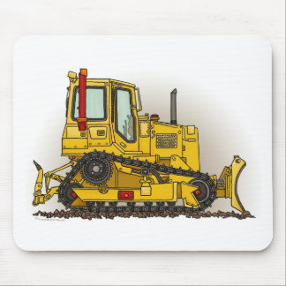 Big Bulldozer Dozer Mouse Pad