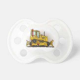 Big Bulldozer Dozer Baby Pacifier
