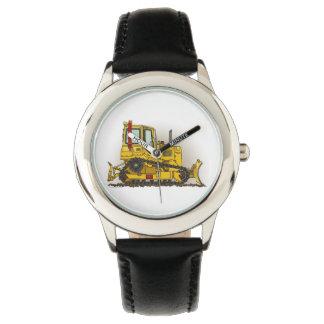 Big Bulldozer Dozer Wrist Watch