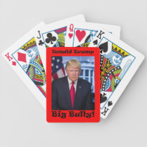 Big Bully - Anti Trump Bicycle Playing Cards