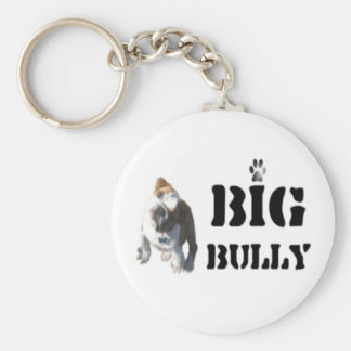 Big Bully Round Key Chain