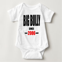 BIG BULLY school since 2000 back learn homework re Baby Bodysuit