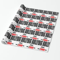 BIG BULLY school since 2000 back learn homework re Wrapping Paper