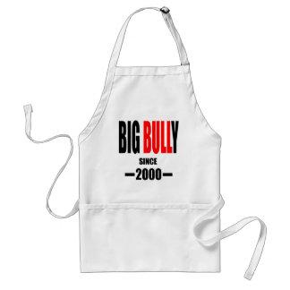 BIG BULLY school since 2000 back learn homework te Adult Apron