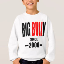 BIG BULLY school since 2000 back learn homework te Sweatshirt