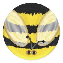Big Bumble Bee Fun Stickers