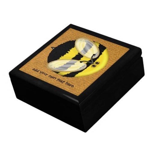 Big Bumble Bee Keepsake Box