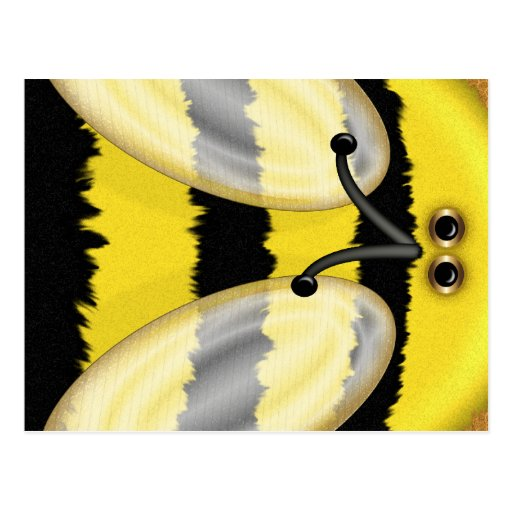 Big Bumble Bee Postcard