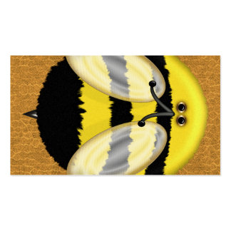 Big Bumble Bee Social Networking Profile Business Card Template