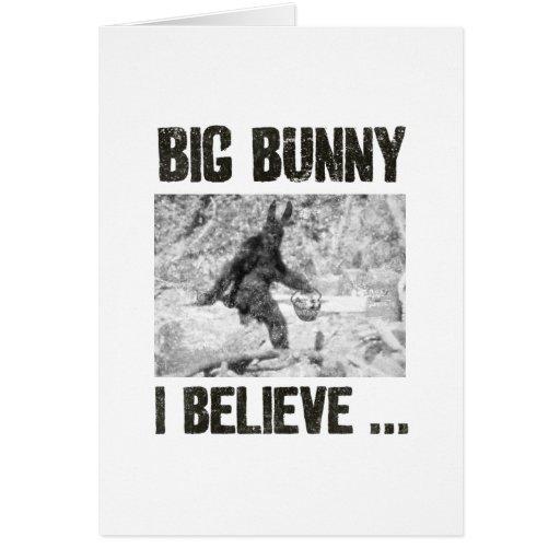 Big Bunny Greeting Card