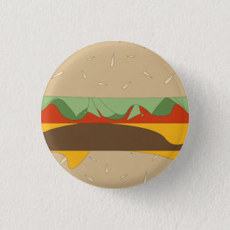 Big Burger Takeover Pinback Button