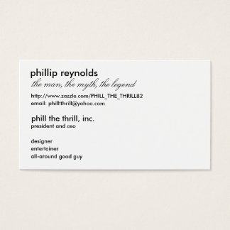 Big Business Business Card