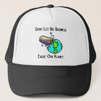 big business trucker hat