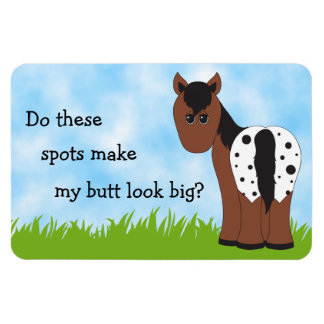 Big Butt Appy Blanket Appaloosa Magnet